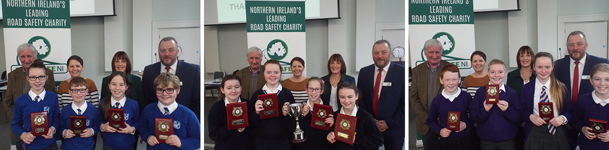Belfast schools qualify for NI Road Safety Quiz Final Sponsored by CRASH Services