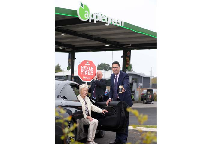 ROAD SAFE NI AND APPLEGREEN TO PROVIDE FREE COFFEE TO TIRED DRIVERS THIS WEEKEND