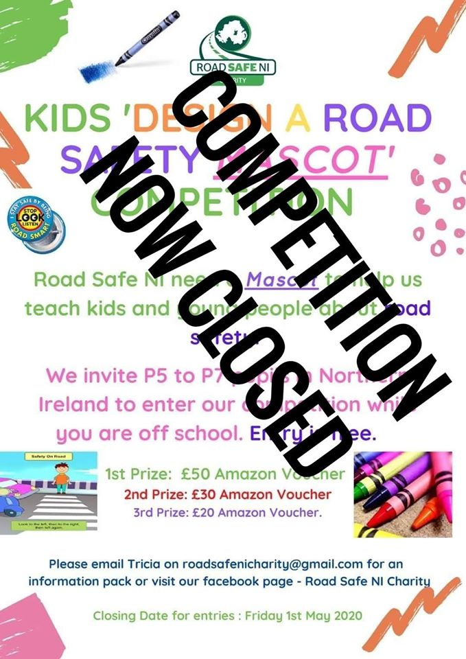 Kids 'Design a Road Safety Mascot' Competition (P5-P7)